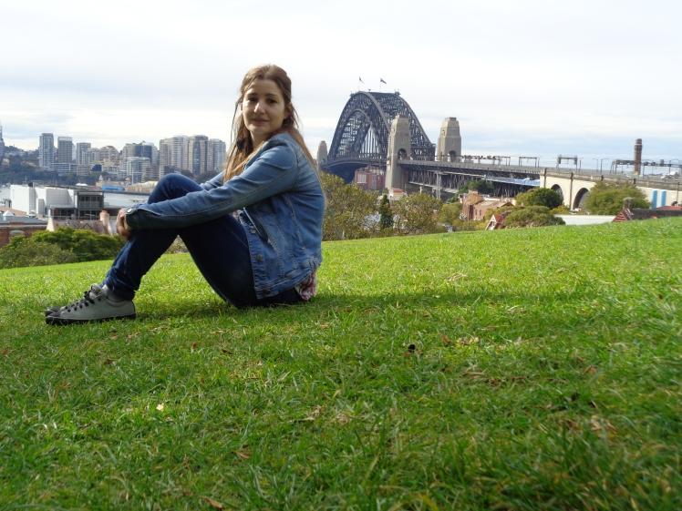 sandra sydney harbour let's go study australia